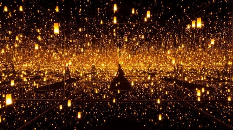 Bellagio Gallery of Fine Art - Kusama Aftermath of Obliteration of Eternity