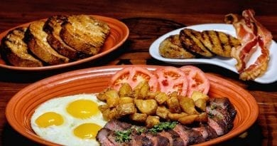 Cabo Wabo Cantina - Steak and Eggs