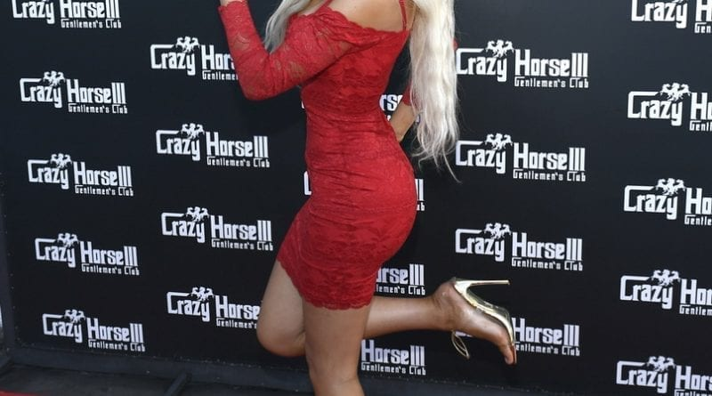 Farrah Abraham on Crazy Horse 3 Red Carpet