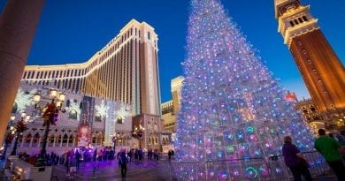 The Venetian Las Vegas - Christmas Tree