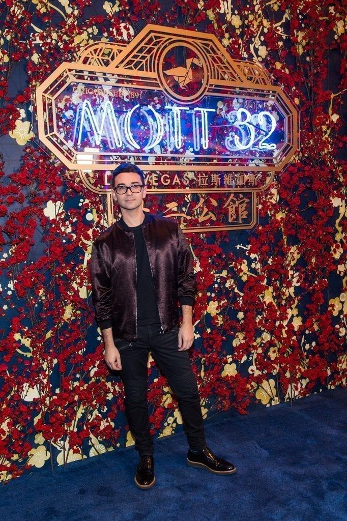 Christian Siriano at the Mott 32 grand opening at The Venetian Resort Las Vegas, 12.28.18_credit Brenton Ho (2)