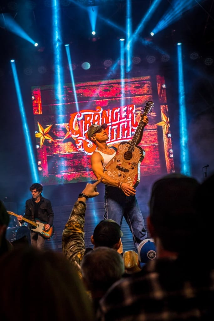 Granger Smith performs during Downtown Hoedown at Fremont Street Experience, 12.5.18