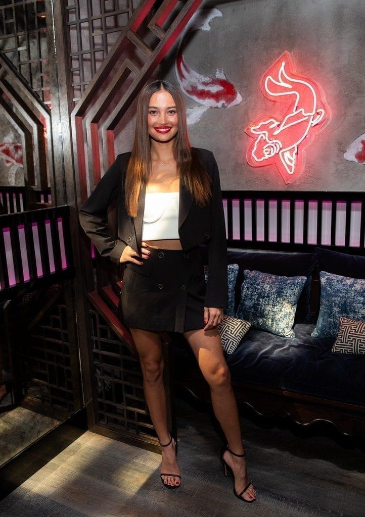 Kelsey Merritt at the Mott 32 grand opening at The Venetian Resort Las Vegas, 12.28.18_Credit Erik Kabik (4)