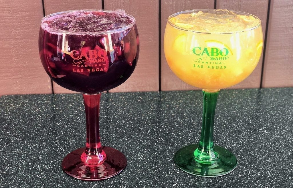 Cabo Wabo Cantina - Red and White Sangria