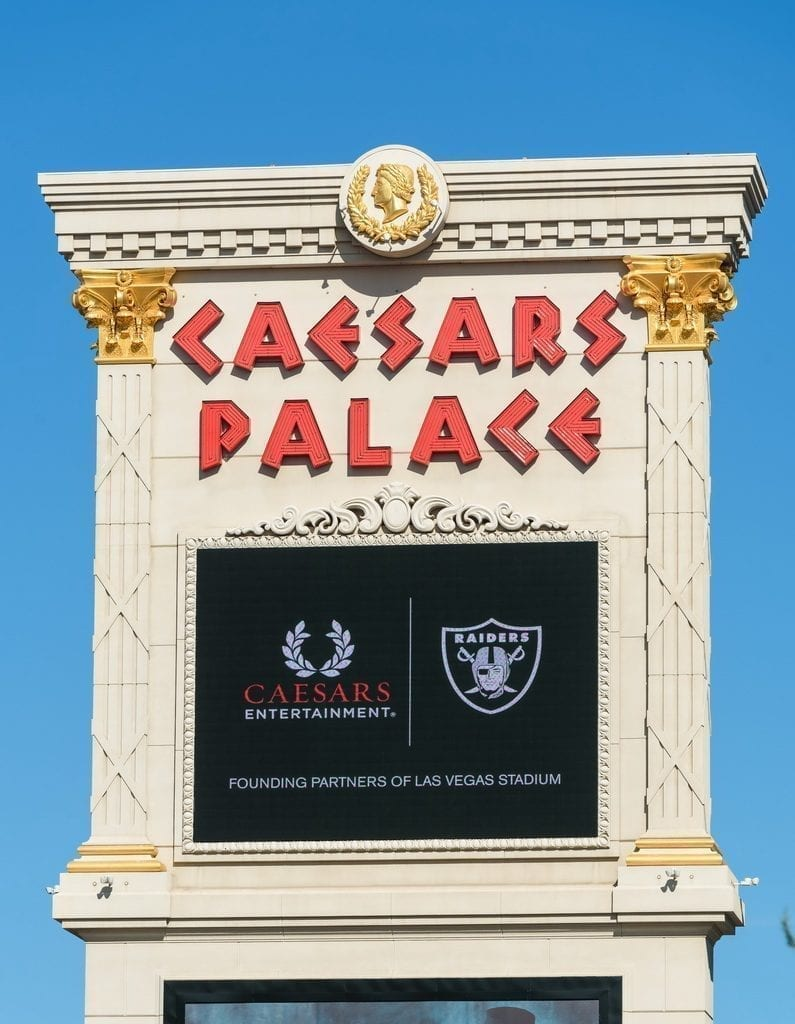 Caesars Entertainment and Raiders Celebrate Historic Partnership