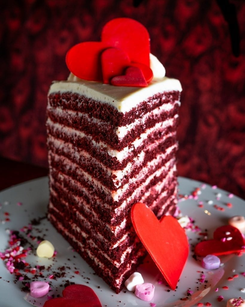 LAVO Las Vegas - 20 Layer Red Velvet Cake