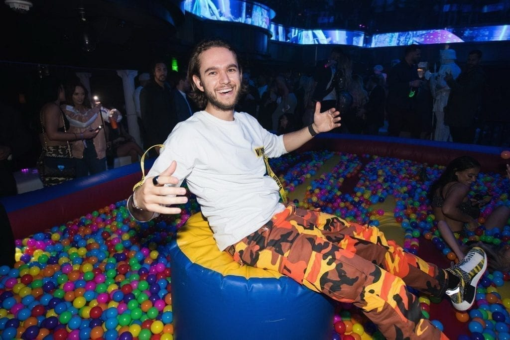 OMNIA Nightclub at Caesars Palace Throws Party Featuring a Ball Pit for Platinum Selling Artist Zedd_Photo Credit Wolf Productions