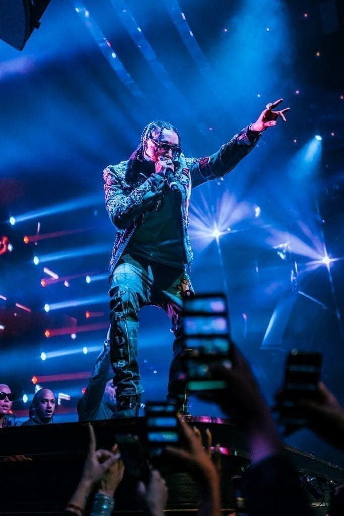 Tyga Performs to a Sold Out Crowd on New Year's Eve at JEWEL Nightclub Inside ARIA Resort & Casino_ Photo Credit Wolf Productions