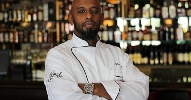Chef Rhori Kow at Triple George Grill
