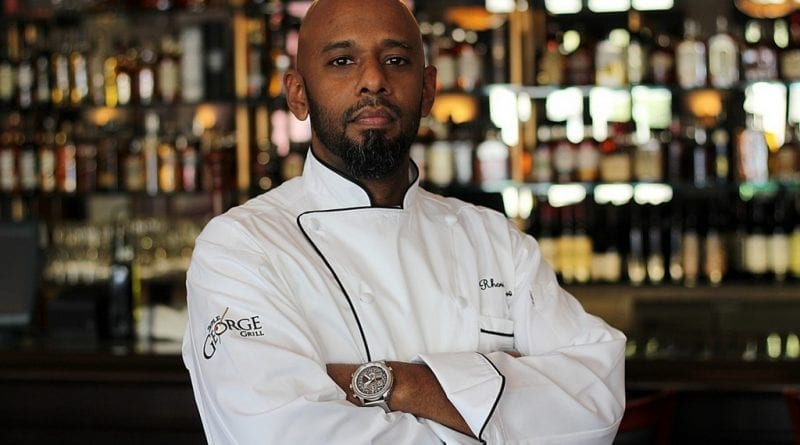 Chef Rhori Kow at Triple George Grill