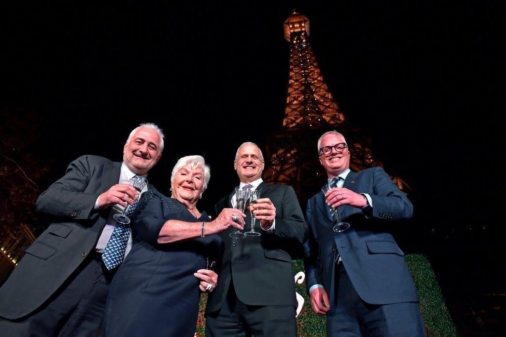 Eiffel Tower Light Show Debut