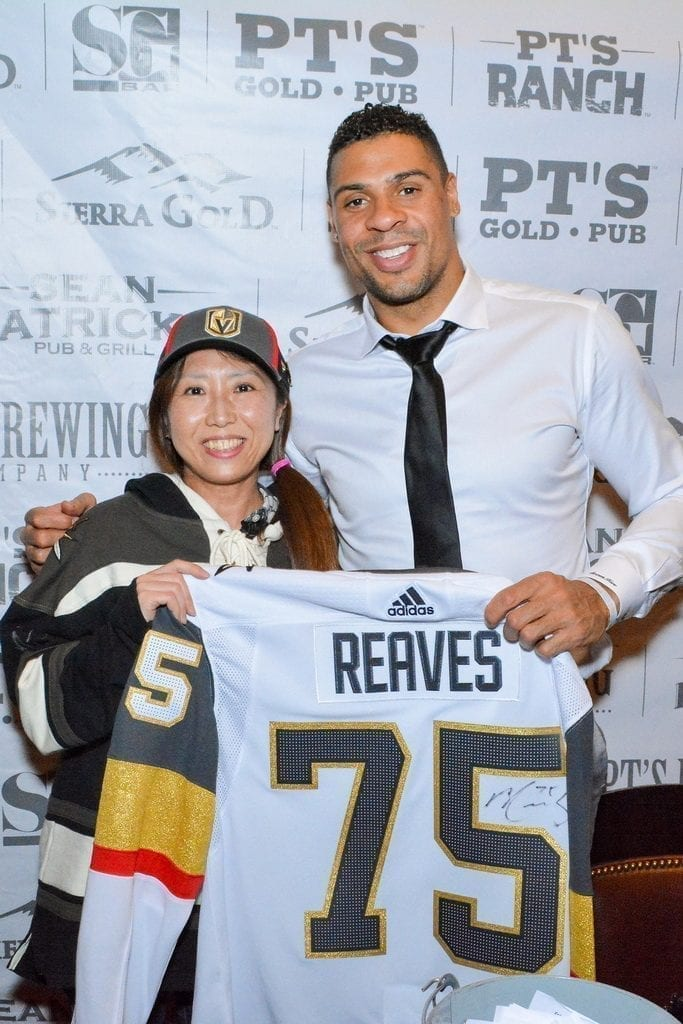 PT's Entertainment Group - Ryan Reaves and Fan