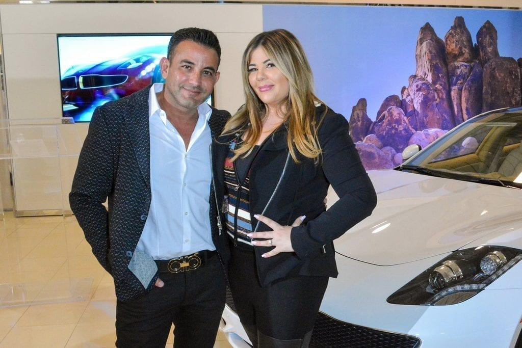 Rony Mansour and Jesika Towbin-Mansour with the Karma Revero