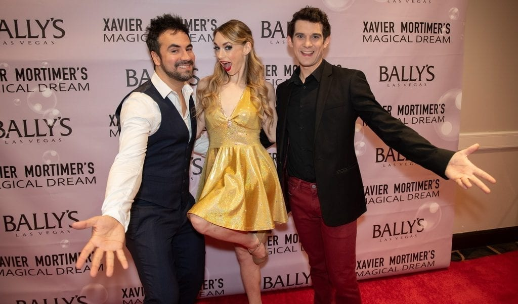 Xavier Mortimer, Allie Sparks and Alex Goude on the Red Carpet