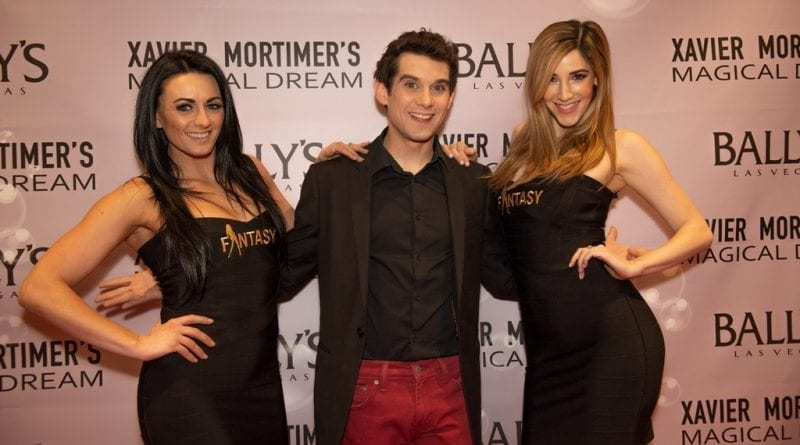 Xavier Mortimer and FANTASY Girls on the Red Carpet