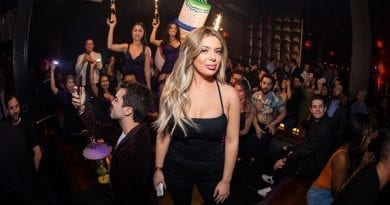 Brielle Biermann at Marquee Las Vegas