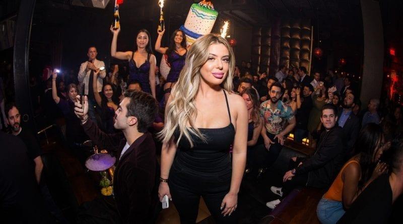 Brielle Biermann at Marquee Las Vegas