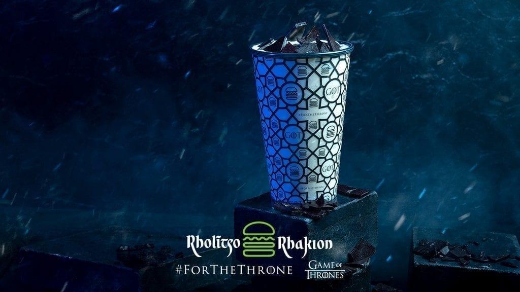 Dragonglass Shake at Shake Shack - Game of Thrones