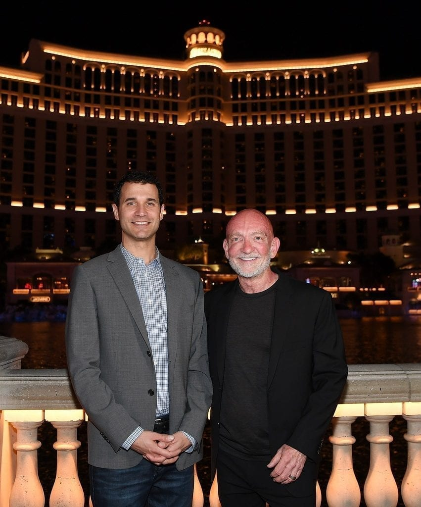 Game of Thrones Composer Ramin Djawadi and WET Design CEO Mark Fuller Celebrate Launch of Game of Thrones Fountain Show at Bellagio