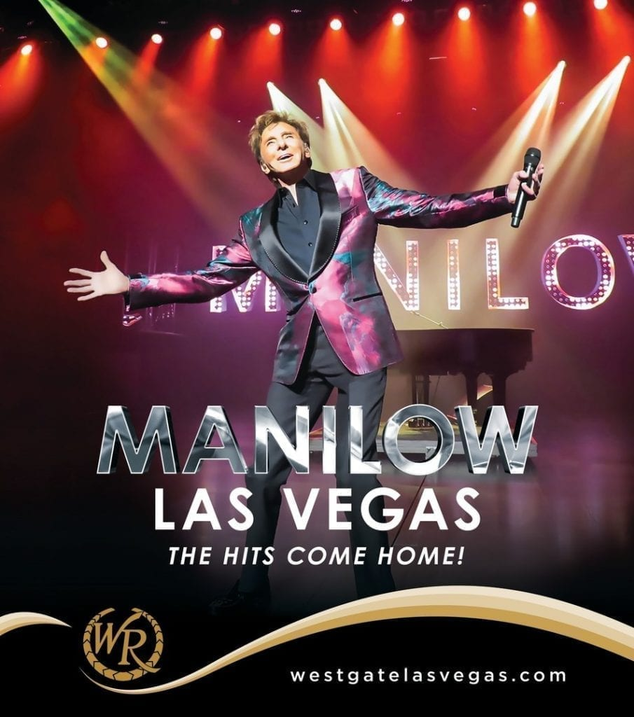 MANILOW: LAS VEGAS – The Hits Come Home!