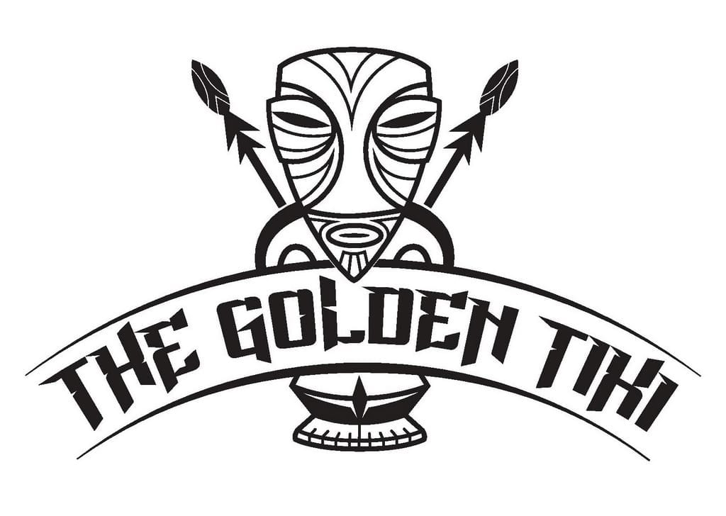 The Golden Tiki Logo