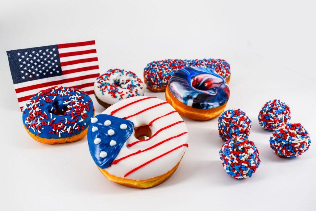 Memorial Day Doughnut Offerings at Pinkbox