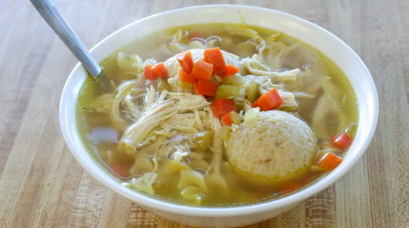 Siegel's Bagelmania - Matzo Ball Soup