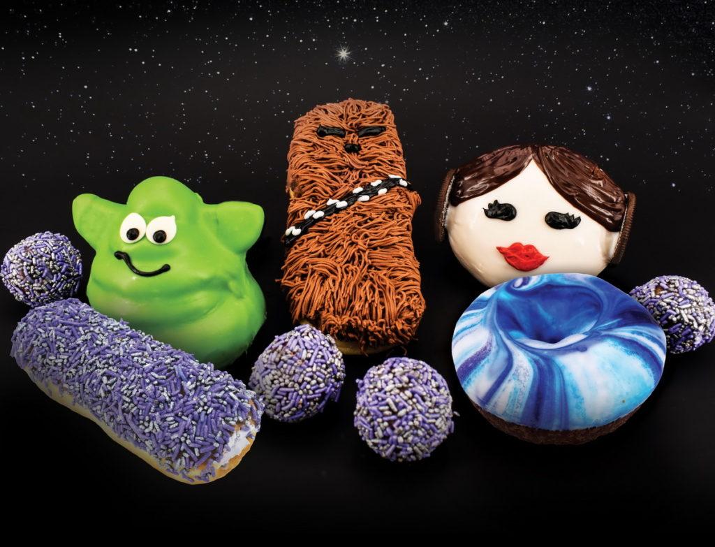 Star Wars Doughnut Offerings at Pinkbox