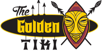 The Golden Tiki Logo