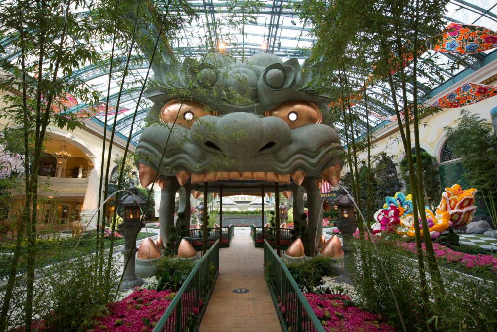 Bellagio Conservatory & Botanical Gardens - Bamboo Forest