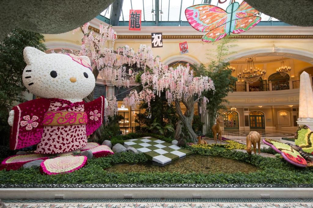 Bellagio Conservatory & Botanical Gardens - Hello Kitty