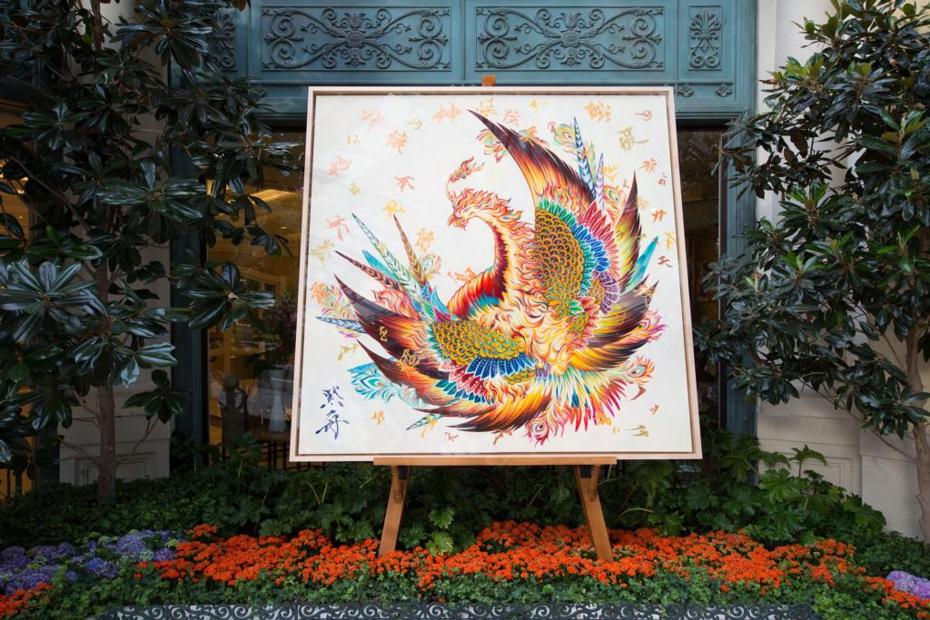 Bellagio Conservatory & Botanical Gardens - Phoenix Painting