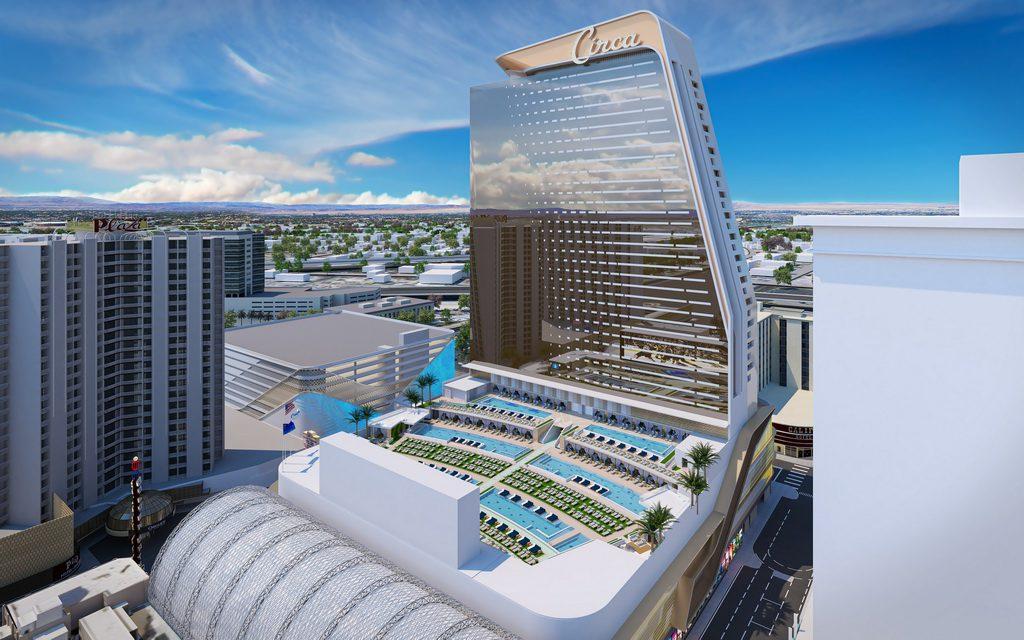 Circa Resort & Casino's Pool Amphitheater