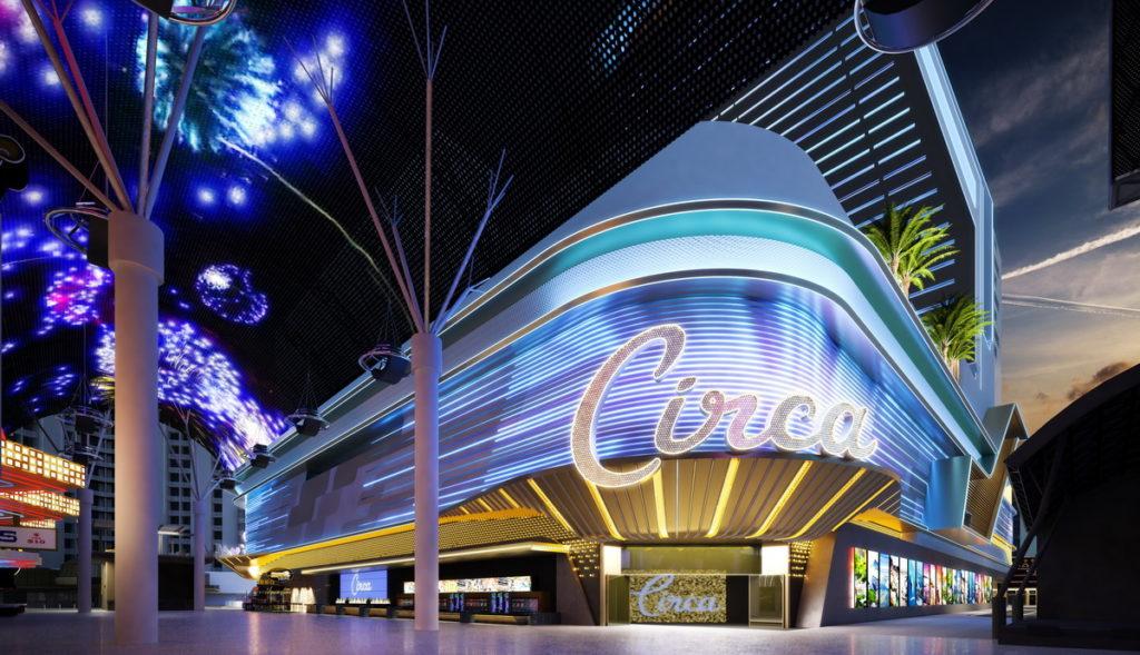 Circa Resort & Casino, at Night - Fremont Street Experiene