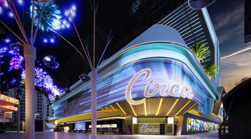 Circa Resort & Casino, at Night - Fremont Street Experiene