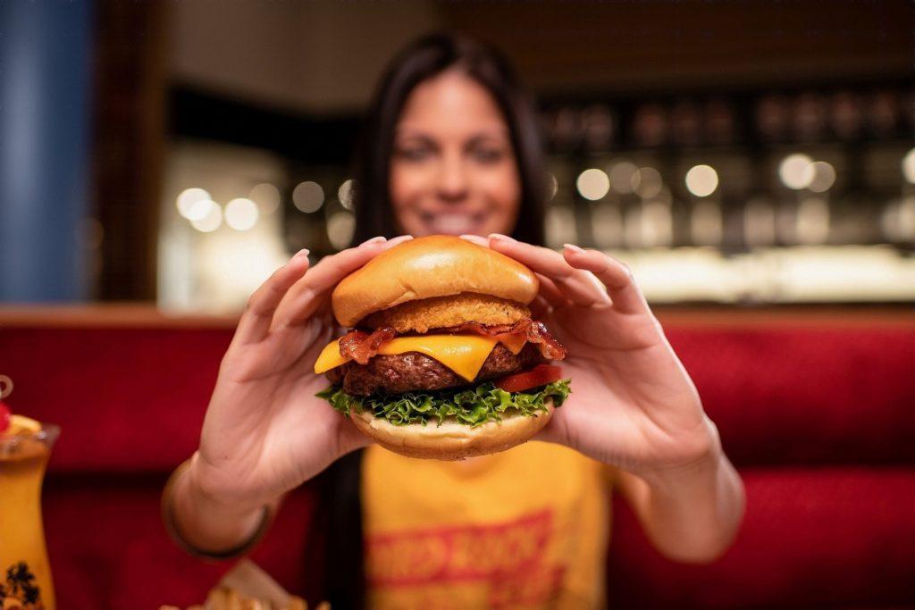 Legendary Steak Burger at Hard Rock Cafe Las Vegas
