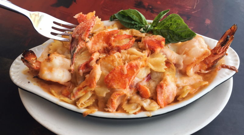 Lobster Mac N Cheese - Pasta Shop Ristorante & Art Gallery