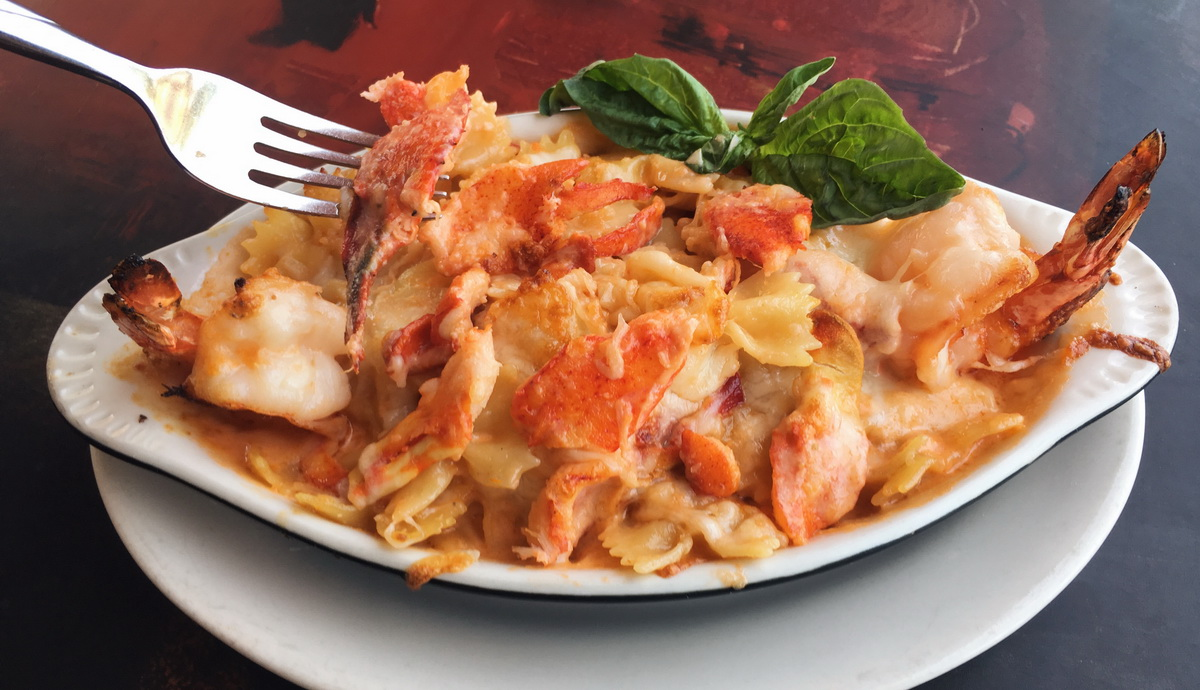 Lobster Mac N Cheese - Pasta Shop Ristorante & Art Gallery