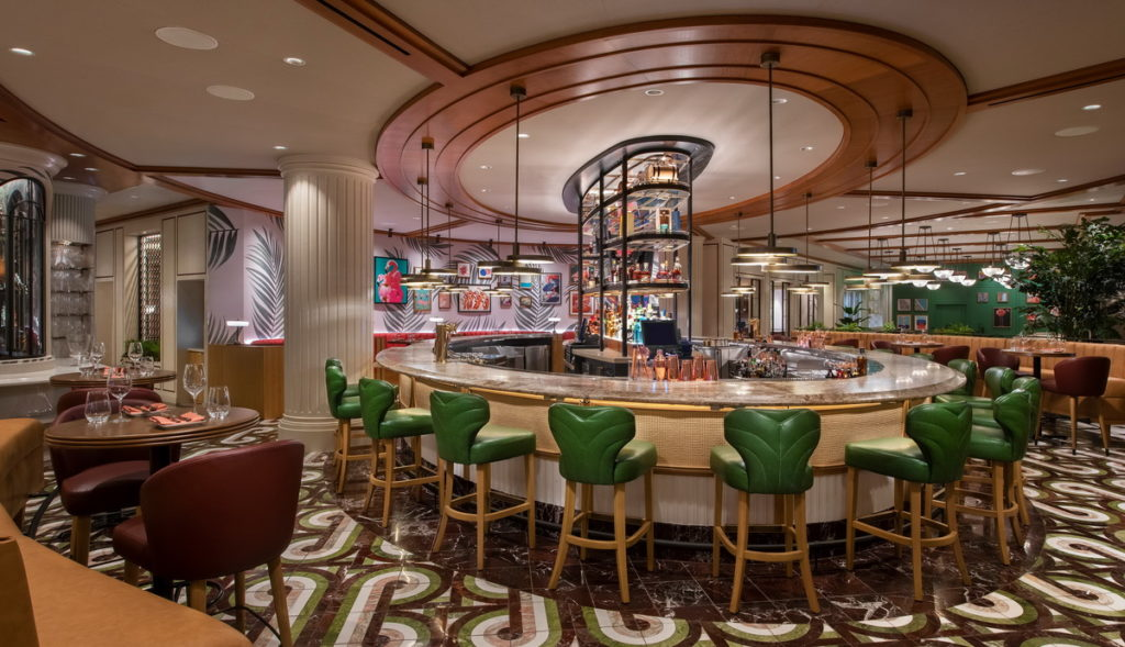 Main Bar at Bugsy & Meyers Steakhouse
