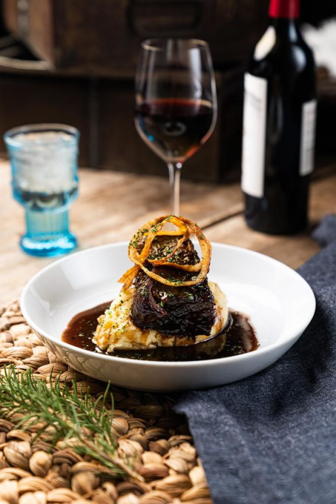 Searsucker's Founder's Stout Braised Short Ribs
