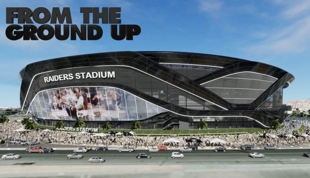 From The Ground Up - Las Vegas Raiders at Allegiant Stadium