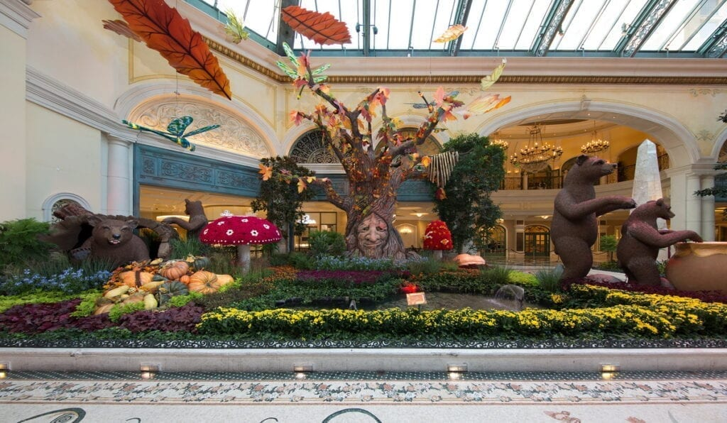 Bellagio Conservatory - Fall 2020 - Into The Woods