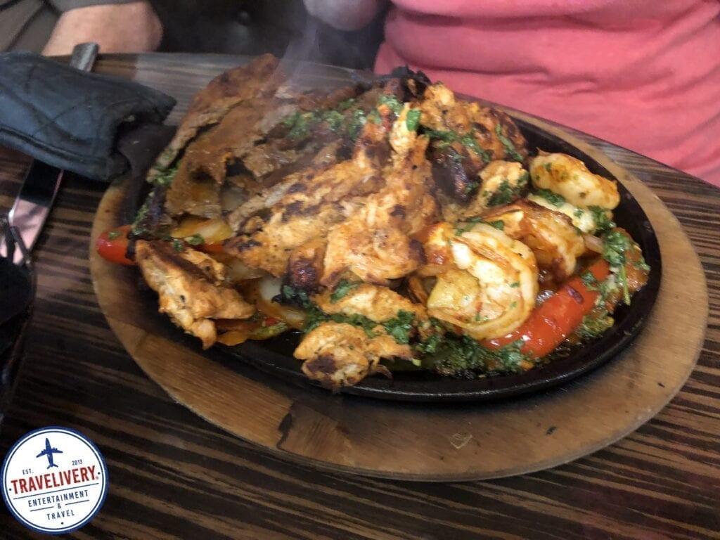 Chicken, Steak, & Shrimp Combo - Fajita Platter at El Dorado Cantina