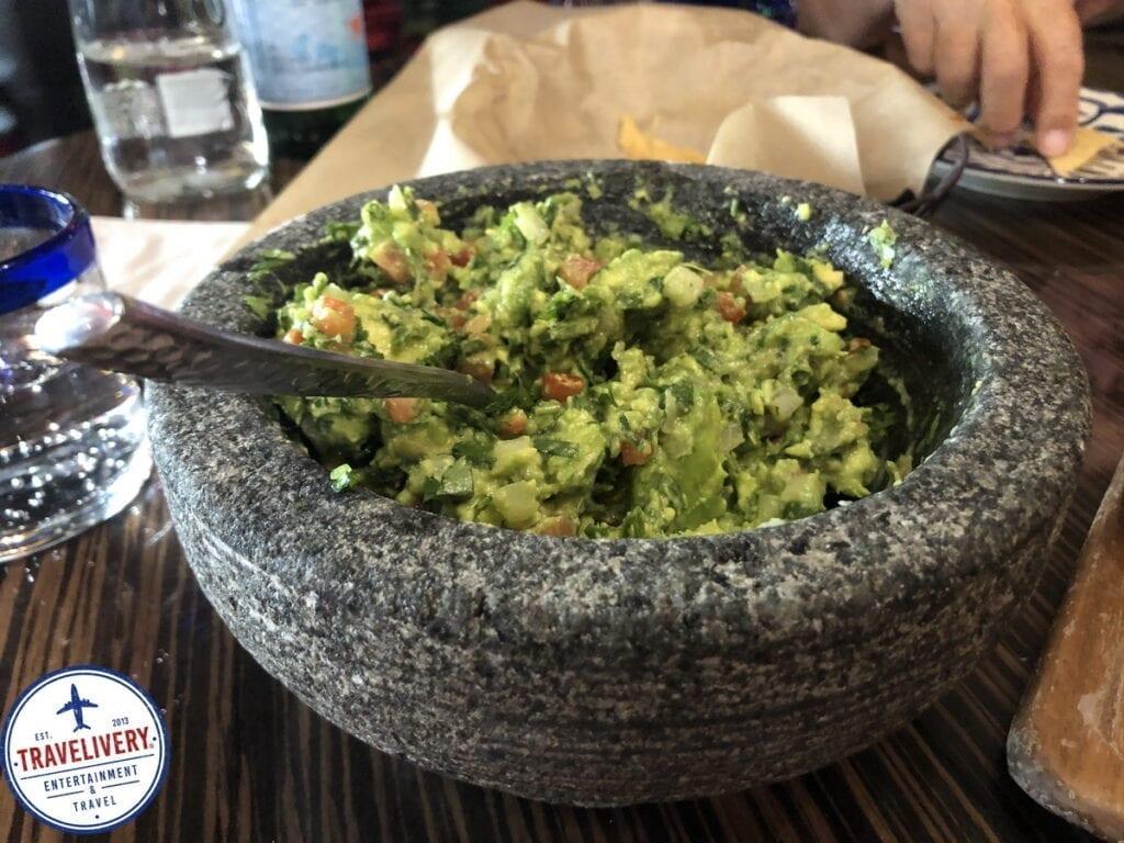 Tableside Guacamole at El Dorado Cantina