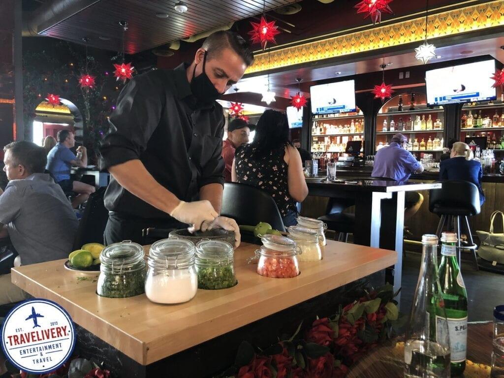 Tableside Guacamole Prep at El Dorado Cantina