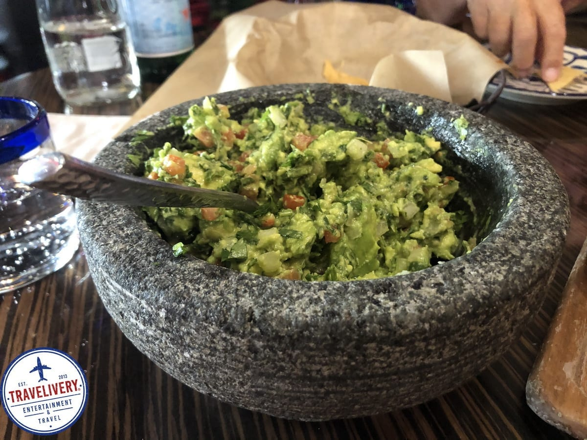 Tableside Guacamole at El Dorado Cantina