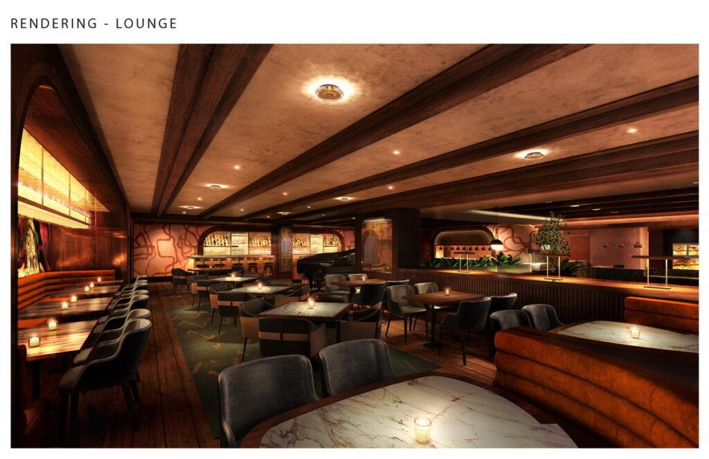 Todd English Olives Dining Room at Virgin Hotels Las Vegas
