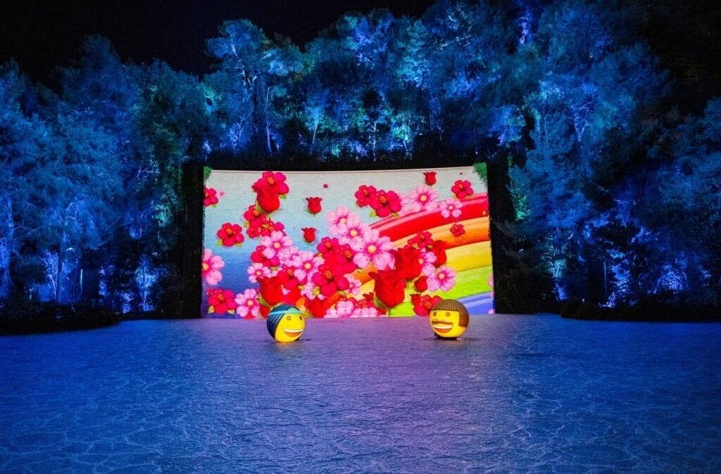 Lake of Dreams at Wynn - Emoji Orbs - Photo Credit Eric Jamison