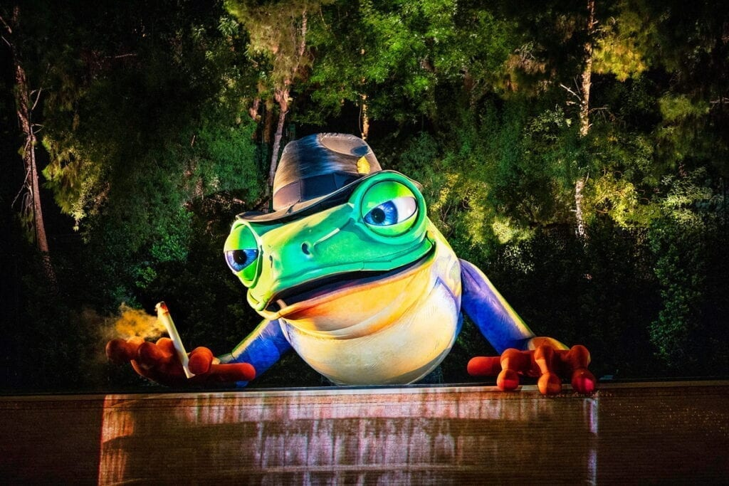 Lake of Dreams at Wynn - Singing Frog - Photo Credit Eric Jamison