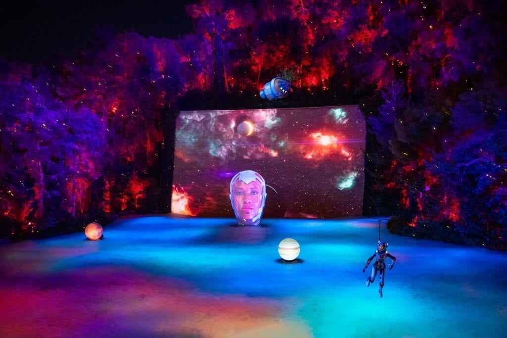 Lake of Dreams at Wynn - Space Oddity - Photo Credit Eric Jamison